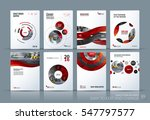 business vector. brochure... | Shutterstock .eps vector #547797577