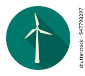 wind energy turbine icon in... | Shutterstock .eps vector #547798297
