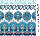 set of dark seamless vector... | Shutterstock .eps vector #547802629