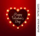 valentine s day background.... | Shutterstock .eps vector #547816351
