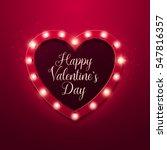 valentine s day background.... | Shutterstock .eps vector #547816357