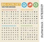 big icon set clean vector | Shutterstock .eps vector #547820029