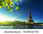 eiffel tower  paris. france | Shutterstock . vector #547826755
