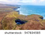 irish cliffs in mayo  ireland... | Shutterstock . vector #547834585