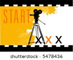 vector film background | Shutterstock .eps vector #5478436