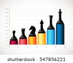 chess   business growth concept | Shutterstock .eps vector #547856221
