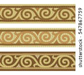 Seamless Mosaic Tile Antique...