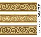 Seamless Mosaic Tile Antique...