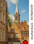 brugges building | Shutterstock . vector #547869259