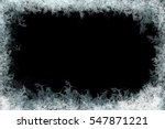 frostwork. decorative ice... | Shutterstock . vector #547871221