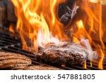 hamburgers cooking hamburgers... | Shutterstock . vector #547881805