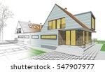 townhouse  3d illustration | Shutterstock . vector #547907977