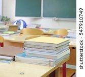 interior of an empty school...   Shutterstock . vector #547910749