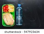 sandwich  small tomatoes ... | Shutterstock . vector #547923634