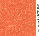 computer circuit board.... | Shutterstock .eps vector #547924801