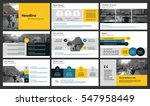Elements for infographics on a white background. Presentation templates. Use in presentation, flyer and leaflet, corporate report, marketing, advertising, annual report, banner. | Shutterstock vector #547958449