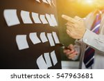planning  risk and strategy of... | Shutterstock . vector #547963681