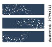 scientific set of modern vector ... | Shutterstock .eps vector #547966915