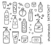collection of hand drawn...   Shutterstock .eps vector #547972477