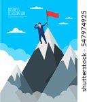 business illustration | Shutterstock .eps vector #547974925