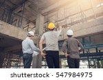 group business man construction ... | Shutterstock . vector #547984975