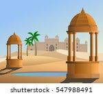 An Illustration Of Thar Desert...