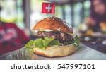 Delicious Meat Burgers And...