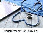 selective focus health care... | Shutterstock . vector #548007121