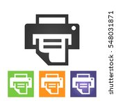 printer icon  illustration....
