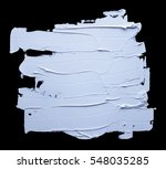 withe oil paint isolated on a... | Shutterstock . vector #548035285
