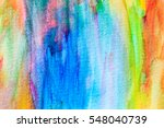 abstract hand painted... | Shutterstock . vector #548040739