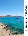 beautiful beach of the luxury... | Shutterstock . vector #54809443