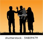 family | Shutterstock .eps vector #54809479