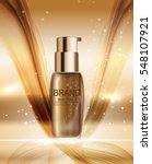 skin toner bottle template for... | Shutterstock .eps vector #548107921