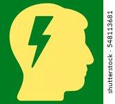 brainstorming vector pictograph.... | Shutterstock .eps vector #548113681