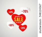 vector illustration of real red ... | Shutterstock .eps vector #548124367