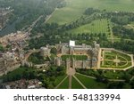 view from a plane of the... | Shutterstock . vector #548133994