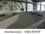 feed mill for the production of ... | Shutterstock . vector #548140939