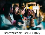 night club drink cocktail... | Shutterstock . vector #548144899