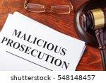 malicious prosecution ... | Shutterstock . vector #548148457