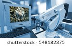 machine learning and... | Shutterstock . vector #548182375