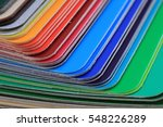 Detail Of Abstract Color...