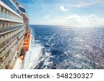 Ocean View From A Cruise Ship...