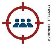 market segment illustration  ... | Shutterstock .eps vector #548232631