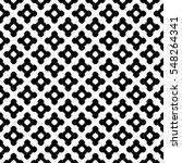 vector monochrome seamless... | Shutterstock .eps vector #548264341