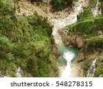 Lech River Canyon  Bird View ...