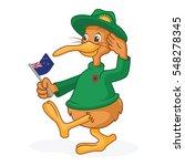 kiwi cartoon in soldier uniform ...   Shutterstock .eps vector #548278345