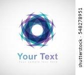 vector swirl logo design | Shutterstock .eps vector #548278951