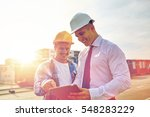 business  building  teamwork ... | Shutterstock . vector #548283229