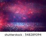 red glitter vintage lights... | Shutterstock . vector #548289394